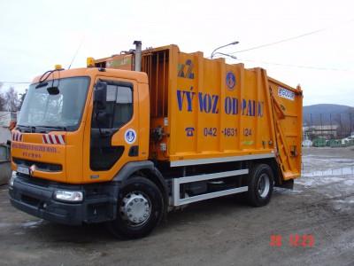 vozidlo na zvoz komunálneho odpadu