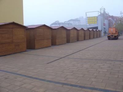 stánky pešia zóna